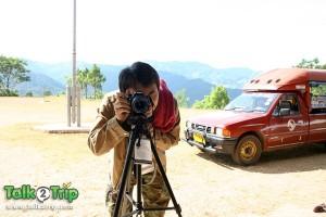มองกล้องหน่อยครับจะถ่ายรูป