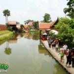 ตลาดน้ำอโยธยา ตลาดน้ำหมู่บ้านปางช้างอโยธยา